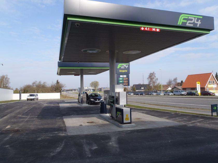 Nyt og klimasikret tankanlæg for Q8 - Kuwait Petroleum