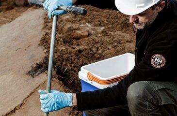 Nedgravet olietank; sløjfning af olietank - DGE